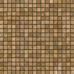 Kamenná mozaika Premium Mosaic Stone béžová 30x30 cm mat STMOS15BEW