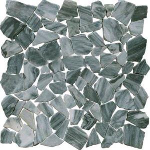 Kamenná mozaika Premium Mosaic Stone šedá 30x30 cm mat STMOSGYW