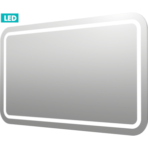 Zrcadlo s LED osvětlením Naturel Iluxit 120x70 cm ZIL12070KLEDS