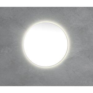 Zrcadlo s LED osvětlením Naturel 80x80 cm bez vypínače ZIL80KLEDP