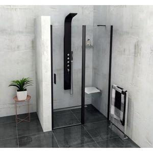 Sprchové dveře 100x200 cm Polysan Zoom černý profil ZL1310B
