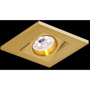 BPM Vestavné svítidlo Aluminio Oro, zlatá, 1x50W, 230V 8087 2000GU