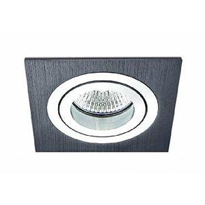 BPM Vestavné svítidlo Aluminio Negro, černá, 3LEDx3W, 230V 4823 3054LED2.D40.3K