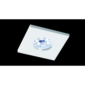 BPM Vestavné svítidlo Aluminio Blanco, bílá, 3LEDx3W, 230V, IP65 4945 4206LED1.D40.3K