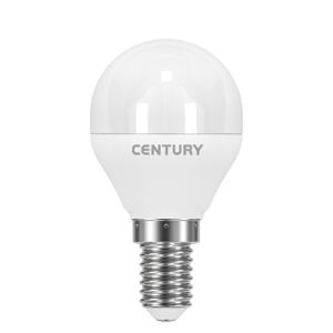 CENTURY LED MINI GLOBE ONDA 6W E14 4000K 510Lm 200d 45x81mm IP20 CEN ONH1G-061440