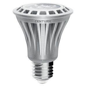 CENTURY LED PAR20 SUPERLED AL provedení 7W E27 3000K 420Lm 63x84mm IP20 38d CEN SLPAR20-072730