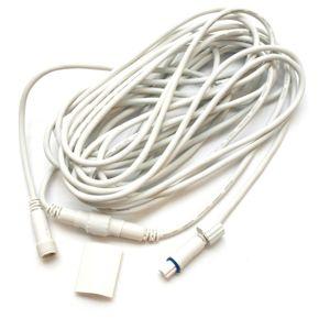 DecoLED Prodlužovací kabel - bílý, 10m