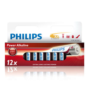 Philips Power Alkaline AA 12ks LR6P12W/10