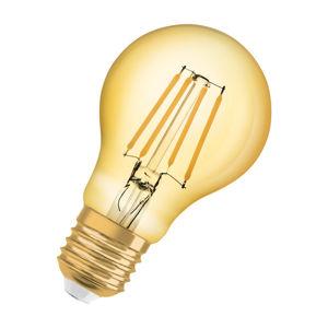 OSRAM Vintage 1906 LED CL A FIL GOLD 63 non-dim 7,5W/825 E27 4058075293359