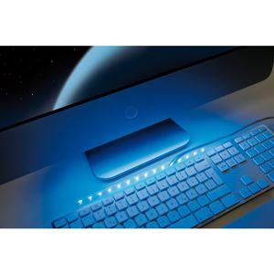 Paulmann USB LED-pásek modrá 30cm bílá kov plast P 70456 70456