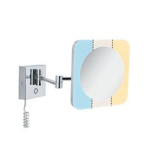 PAULMANN HomeSpa LED kosmetické zrcadlo Jora 3-násobné zvětšení IP44 chrom/bílá/zrcadlo 3,3W měnitelná bílá 789.33