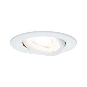 PAULMANN Vestavné svítidlo LED Nova kruhové 1x6,5W GU10 bílá mat výklopné 934.30 P 93430