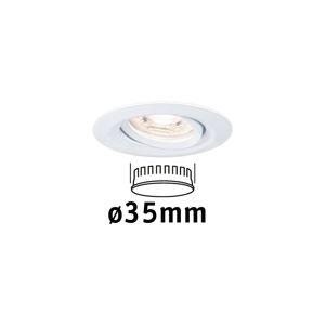PAULMANN LED vestavné svítidlo Nova mini výklopné 1x4W 2700K bílá mat 230V 942.92