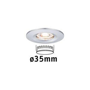 PAULMANN LED vestavné svítidlo Nova mini nevýklopné IP44 1x4W 2700K chrom 230V 943.02