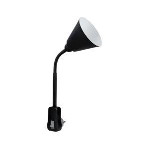 PAULMANN svítidlo do zásuvky Junus Flexarm E14 černá vypínač na lampě 954.27 P 95427